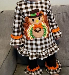 Holiday Turkey outfit size 18months